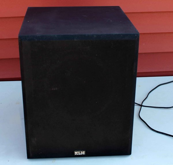 KLH ASW10-120B Powered Subwoofer