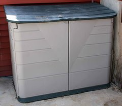 Rubbermaid Plastic Garden Storage Shed