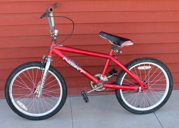 "20"" NEXT Wipeout Red Boys Bicycle/Bike"