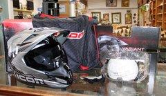 LIKE NEW Icon Variant Salvo Motocross Helmet-small