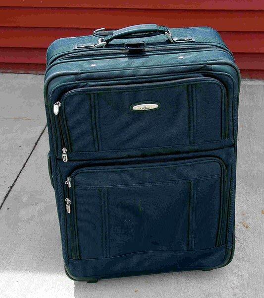 2 pc. Atlantic Green Soft Suitcases