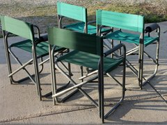 Heavy Aluminum Camping Chairs
