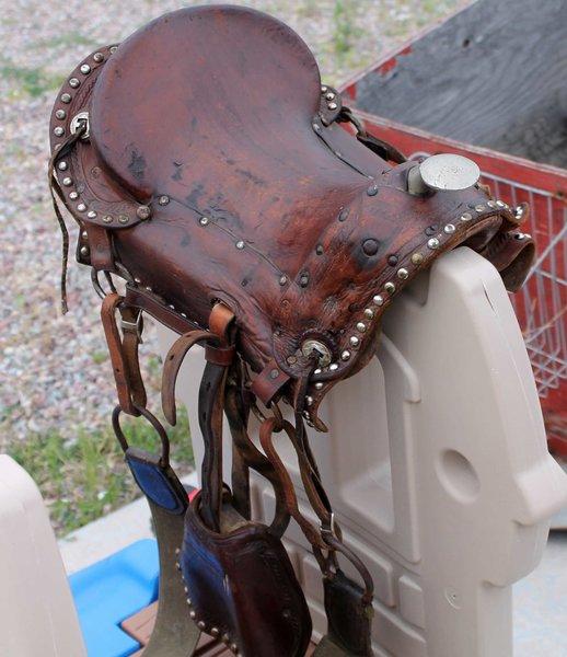 Antique Baby Saddle