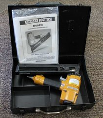 Stanley Bostitch Pneumatic Finish Nailer N60FN -in steel box w/ manual
