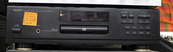 Denon CD Player w/o Remote DCD-425