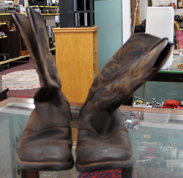 Justin Cowboy Boots--size 13D