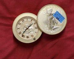 Vintage Bulova St. Gardens Alarm Clock