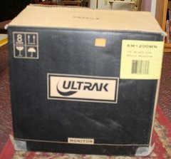 "NEW Ultrak12"" Black & White Computer Monitor"