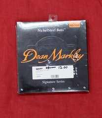 Dean Markley LT 40-100 Nickel Steel Bass Guitar Strings-Signature Series