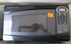 Sharp Carousel Microwave-Black R-209KK