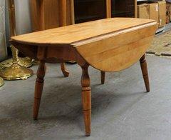 Vintage Drop Leaf Maple Coffee Table
