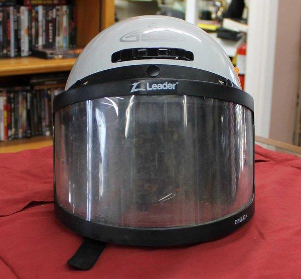 JMax White Helmet w/ Face Shield