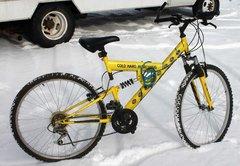 """Mike's Hard Lemonade"" Yellow Mountain Bike/Bicycle"