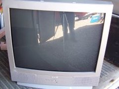 Sanyo Flat Screen Television with Remote