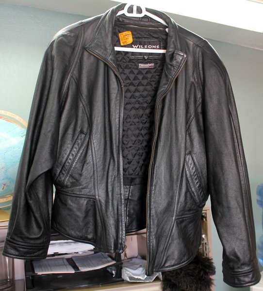 Wilsons the Leather Experts Thinsulate XL Black Jacket