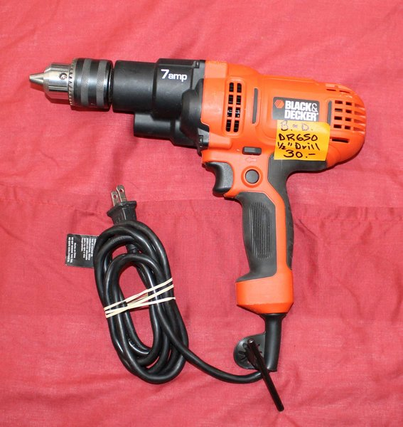 """Black and Decker DR 650 1/2"""" Electric Drill"""