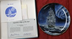 The Rescue-Legendary Ships of the Seas Collector Plate