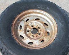 P235/75 R15 Firestone ATX Wheel and Tire