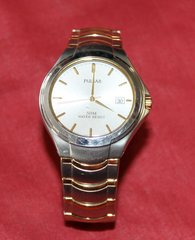 Silver and Gold Pulsar Watch