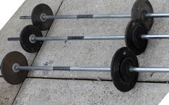 3 X Fixed Weights w/ Bar 30#/35#/40#