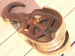 Antique Pulley