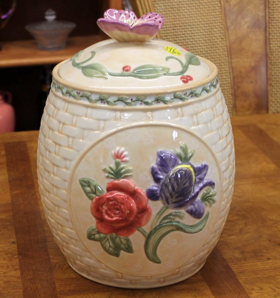 Large Ceramic Kitchen Canister
