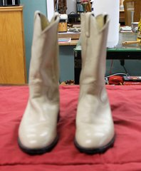 Justin Tan Cowgirl Boots--size 7B