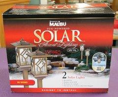 New Malibu Sun Powered Solar Accent Lights