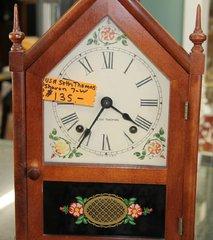 Seth Thomas (USA) Sharon 7-W Mantle Clock w/Key