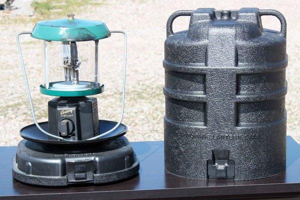 Century Double Mantle Propane Lantern w/ Case
