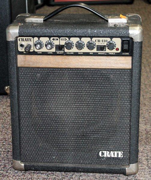 Crate CR-110 Combo Guitar Amplifier-Portable