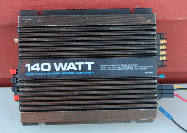 Kraco A-5050 2 Channel Power Amplifier