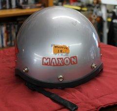 Maxon Grey 1/2 Helmet