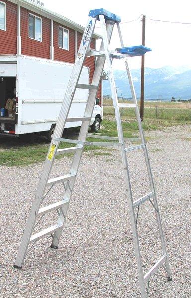 Werner 8' Ladder-Aluminum