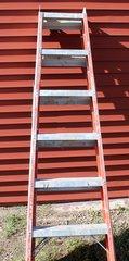 6' Fiberglass Double Step Ladder