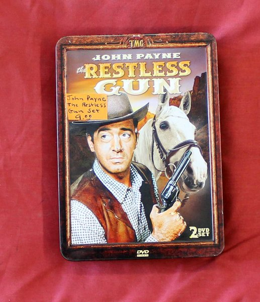 John Payne The Restless Gun DVD