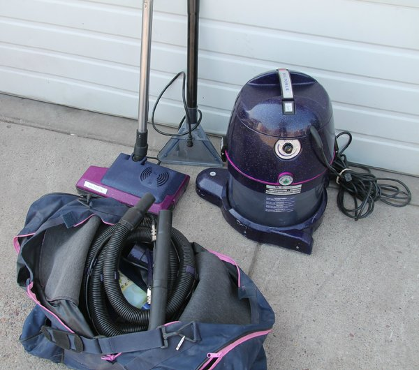 W.S.S.P.A. Big Power Vacuum with Accessories