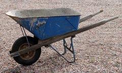 Vintage Heavy Duty Contractor's Wheelbarrow