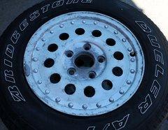 "15"" 5 Hole x 4 1/2"" Aluminum Wheels"