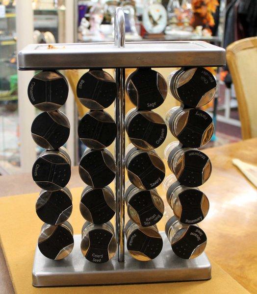 20 Jar Freestanding Spice Rack
