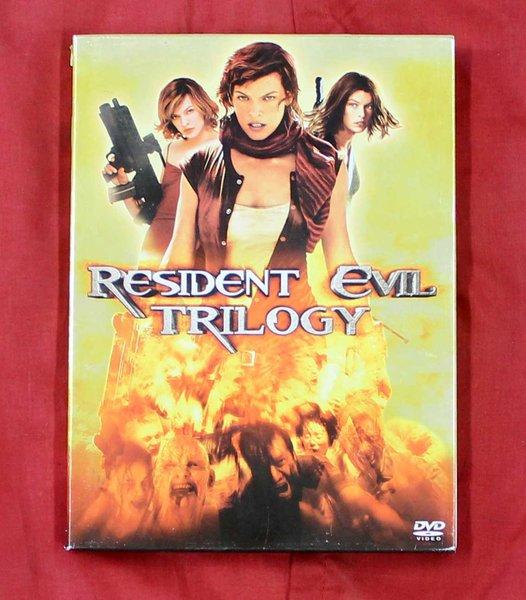 Resident Evil Trilogy DVD Set
