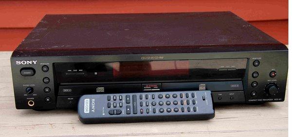 Sony CD Recorder