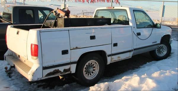 1998 Chevy 1-Ton Utility Truck