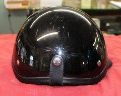Black 1/2 Helmet