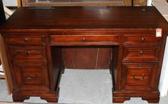 Aspenhome Dark Wood Office Desk