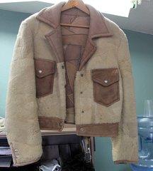 Women's Lambskin Crop Jacket-Small