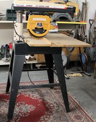"Powr Kraft DeWalt 10"" Radial Arm Saw Powershop"