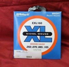 D'Addario EXL 160 Nickel Wound Medium Gauge Guitar Strings