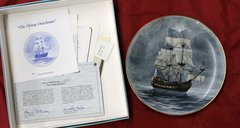 The Flying Dutchman-Legendary Ships of the Seas Collector Plate