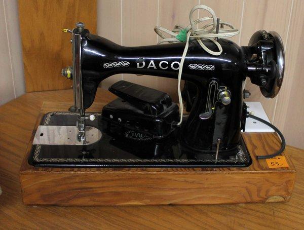 Vintage Daco Sewing Machine
